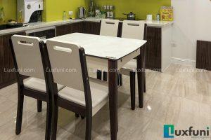 Ghế ăn 28 kết hợp bàn ăn bếp từ 870-Chú Dũng-Tòa P1, KĐT Ciputra