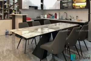 Ghế ăn A078 kết hợp bàn ăn thông minh mặt đá T839-Anh Kỳ-Nguyễn Văn Cừ, Long Biên, Hà Nội-2