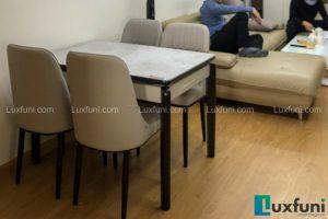 Ghế ăn A6 kết hợp bàn ăn bếp từ 871-Anh Hòa-Tòa CT3, Chung cư Valencia, 885 Tam Trinh-1