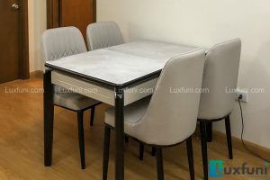Ghế ăn A6 kết hợp bàn ăn bếp từ 871-Anh Hòa-Tòa CT3, Chung cư Valencia, 885 Tam Trinh
