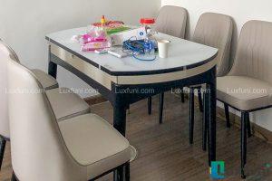 Ghế ăn A6 kết hợp bàn ăn bếp từ T1959-Anh Hà-Tòa W2, Chung cư West Point, Đỗ Đức Dục