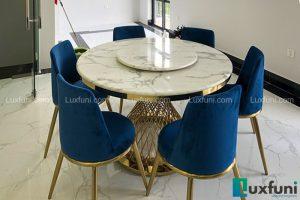 Ghế ăn AG86 kết hợp bàn ăn AG86-Chú Đại-Vinhomes Imperia, Bạch Đằng, Hải Phòng