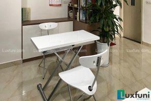 Ghế ăn C3391 kết hợp bàn ăn thông minh mở rộng-nâng hạ B2166