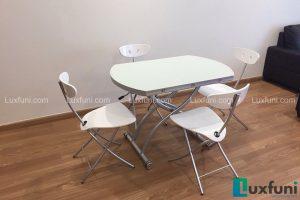 Ghế ăn C3391 kết hợp bàn ăn thông minh mở rộng-nâng hạ B2252