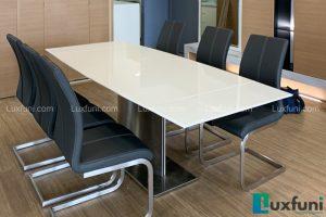 Ghế ăn C394 kết hợp bàn ăn thông minh mặt đá T809-Chị Thu-Vinhomes Skylake, Phạm Hùng-1