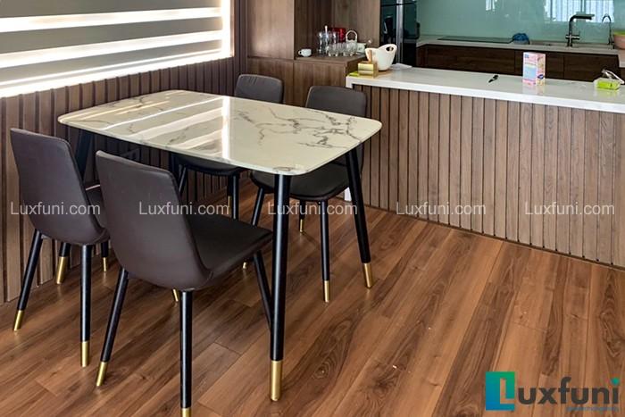 Ghế ăn CT108 kết hợp bàn ăn mặt đá CT108-Anh Cường-Tòa HH03D, Thanh Hà, Hà Đông