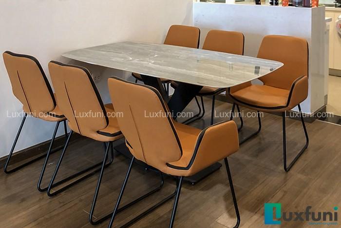 Ghế ăn D111 kết hợp bàn ăn mặt đá T261-Bác Hùng-Tòa T2, Số 3 Lương Yên-1