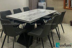 Ghế ăn D112 kết hợp bàn ăn thông minh T839 mặt đá-Chị Trang-Dãy B, Khu M, Hồ Ba Mẫu-1