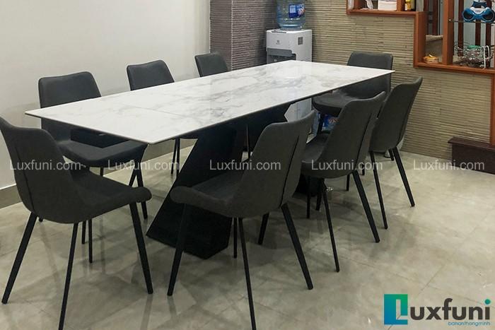 Ghế ăn D112 kết hợp bàn ăn thông minh T839 mặt đá-Chị Trang-Dãy B, Khu M, Hồ Ba Mẫu-2
