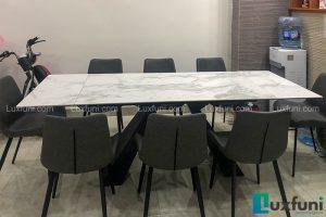 Ghế ăn D112 kết hợp bàn ăn thông minh T839 mặt đá-Chị Trang-Dãy B, Khu M, Hồ Ba Mẫu