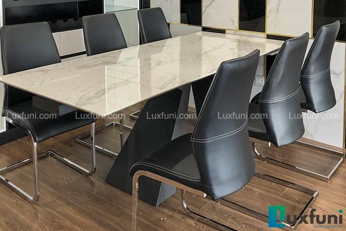 Ghế ăn H660 kết hợp bàn ăn thông minh mặt đá T839-Anh Tuấn Anh-Chung cư Sunshine Riverside, Phú Thượng, Tây Hồ-1