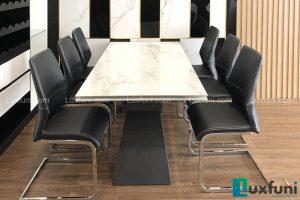 Ghế ăn H660 kết hợp bàn ăn thông minh mặt đá T839-Anh Tuấn Anh-Chung cư Sunshine Riverside, Phú Thượng, Tây Hồ
