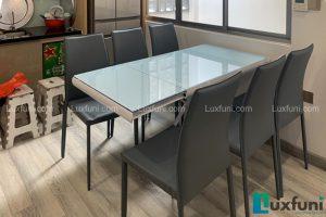 Ghế ăn MS01 kết hợp bàn ăn thông minh mở rộng-nâng hạ B2422-1