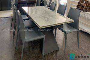 Ghế ăn MS01 kết hợp bàn ăn thông minh T839 mặt đá-Chị Trang-Tòa C, Imperia Sky Garden, 423 Minh Khai-1