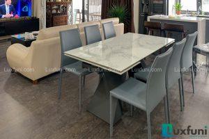 Ghế ăn MS01 kết hợp bàn ăn thông minh T839 mặt đá-Chị Trang-Tòa C, Imperia Sky Garden, 423 Minh Khai