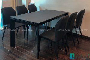 Ghế ăn TC5126 kết hợp bàn ăn thông minh mặt gốm 7082-Chú Cường-Đường Phương Mai