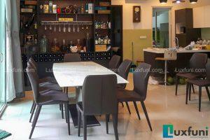 Ghế ăn TC5126 kết hợp bàn ăn thông minh T809-Chị Nga-Tiểu khu Nadyne Gardens, Parkcity Hà Nội-1
