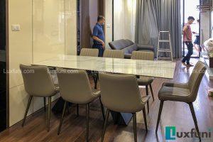 Ghế ăn TC5138 kết hợp bàn ăn thông minh mặt đá T839-Anh Sơn-Tòa N01 T1, Lạc Hồng, Khu Ngoại Giao Đoàn-2