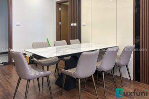 Ghế ăn TC5138 kết hợp bàn ăn thông minh mặt đá T839-Anh Sơn-Tòa N01 T1, Lạc Hồng, Khu Ngoại Giao Đoàn