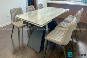 Ghế ăn TC5138 kết hợp bàn ăn thông minh mặt đá T839-Cô Nhung-Tòa A, Imperia Sky Garden, 423 Minh Khai-1