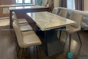 Ghế ăn TC5138 kết hợp bàn ăn thông minh mặt đá T839-Cô Nhung-Tòa A, Imperia Sky Garden, 423 Minh Khai-2