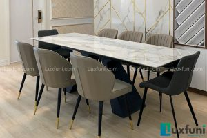 Ghế ăn Y209 kết hợp bàn ăn thông minh T839 mặt đá-Chị Nhàn-Tòa V3, Chung cư Victoria, Văn Phú, Hà Đông-1