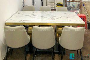 Ghế ăn Y253 kết hợp bàn ăn mặt đá 075#-Chị Hà-Tòa T2, Time City