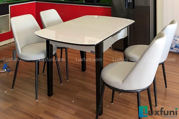 Ghế ăn Y253 kết hợp bàn ăn thông minh B68-Chị Thủy-Tòa CT1A, KĐT thành phố Giao Lưu, Phạm Văn Đồng-2
