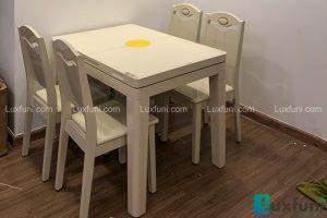 Ghế ăn Y8319 kết hợp bàn ăn bếp từ T1362-Chị Kiểu Trang-Park 3, Time City-1