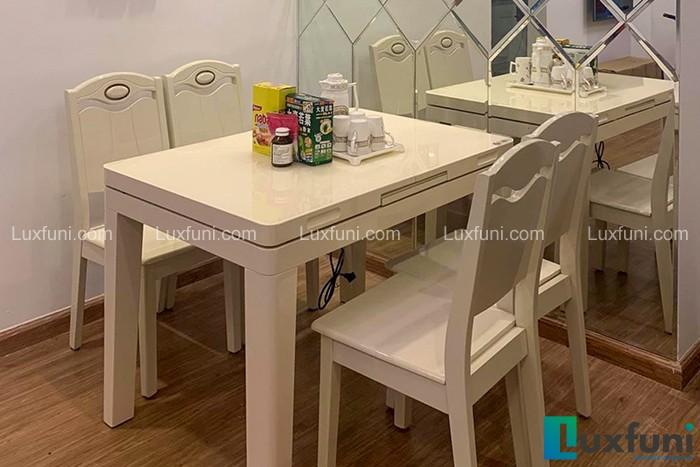 Ghế ăn Y8319 kết hợp bàn ăn bếp từ T1362-Chị Kiểu Trang-Park 3, Time City