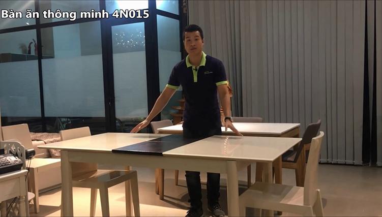 Giới thiệu 10 bộ bàn ăn thông minh - Thu gọn, mở rộng đơn giản -11