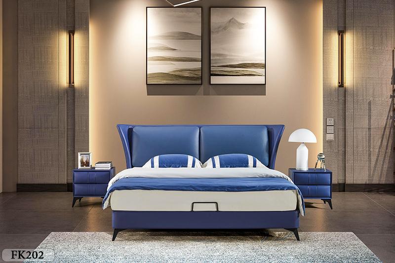 Giường ngủ tân cổ điển đương đại Patrick FK202