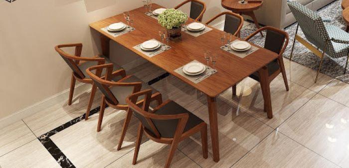 Mách bạn cách lựa chọn và bảo quản mẫu bàn ăn đẹp bằng gỗ-3
