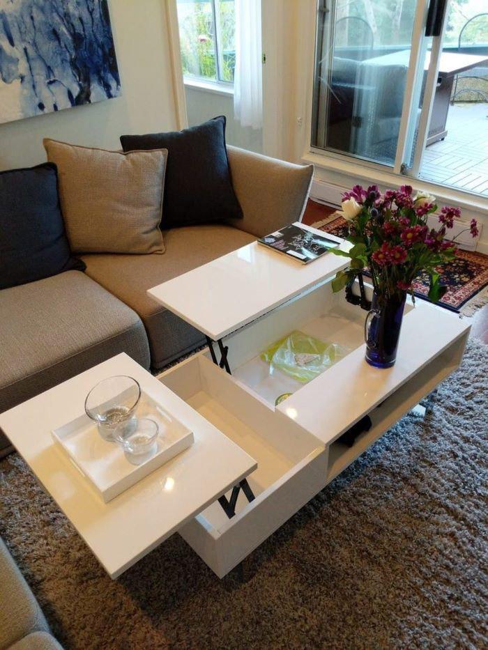 Tại sao bàn ăn thông minh xếp gấp được yêu thích trong những căn hộ nhỏ-1
