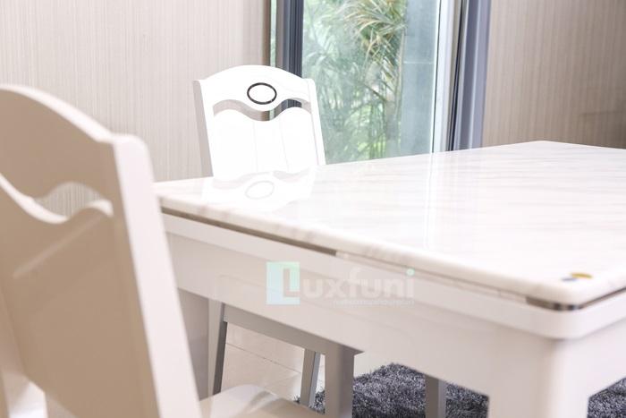 3 Mẫu bàn ăn mặt đá 4 ghế đẹp có giá dưới 10 triệu đồng-4