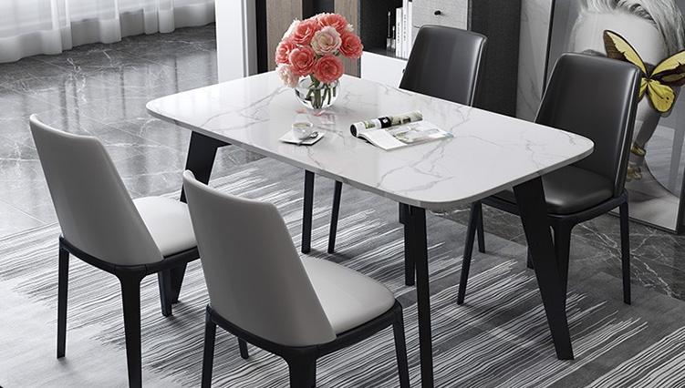 3 Mẫu bàn ăn mặt đá 4 ghế đẹp có giá dưới 10 triệu đồng