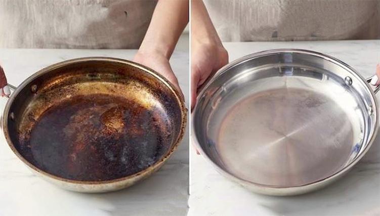 5 Cách làm sạch xoong nồi bị ố vàng cực đơn giản và hiệu quả