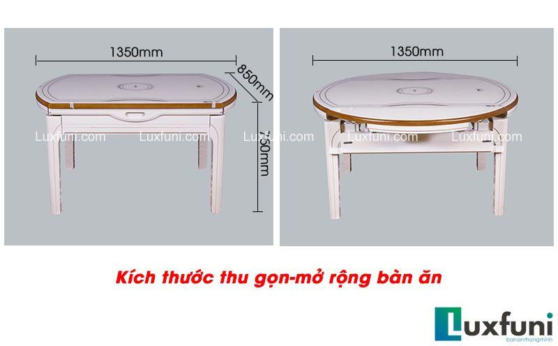 Đánh giá bộ bàn ăn thông minh có bếp từ kèm tính năng mở rộng T1718-3