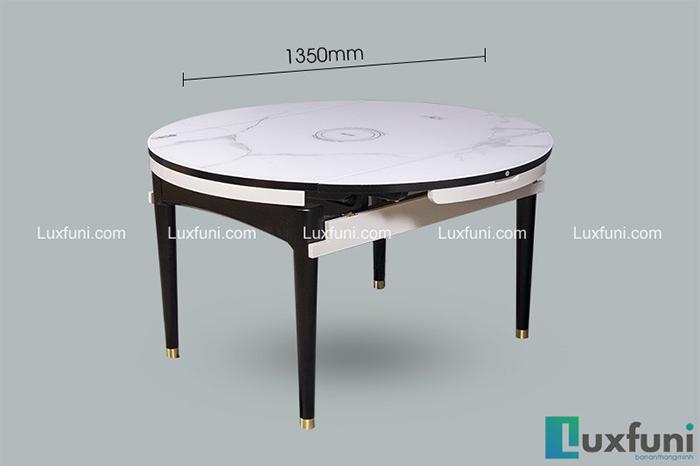 Bộ bàn ăn gỗ mặt kính T1959 giá TỐT nhất-2