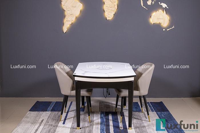 Bộ bàn ăn gỗ mặt kính T1959 giá TỐT nhất-3