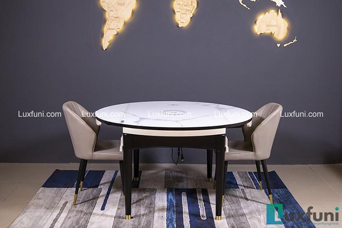 Bộ bàn ăn gỗ mặt kính T1959 giá TỐT nhất-5