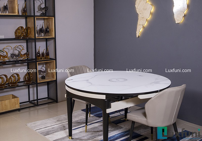 Bộ bàn ăn gỗ mặt kính T1959 giá TỐT nhất-6