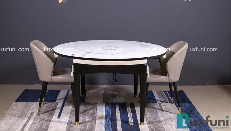 Bộ bàn ăn gỗ mặt kính T1959 giá TỐT nhất-7