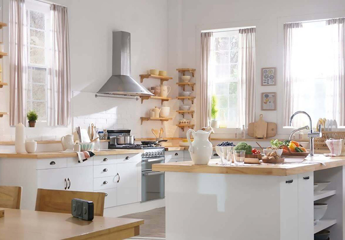 Cách bố trí nhà bếp đơn giản mà độc đáo có thể bạn chưa biết-4