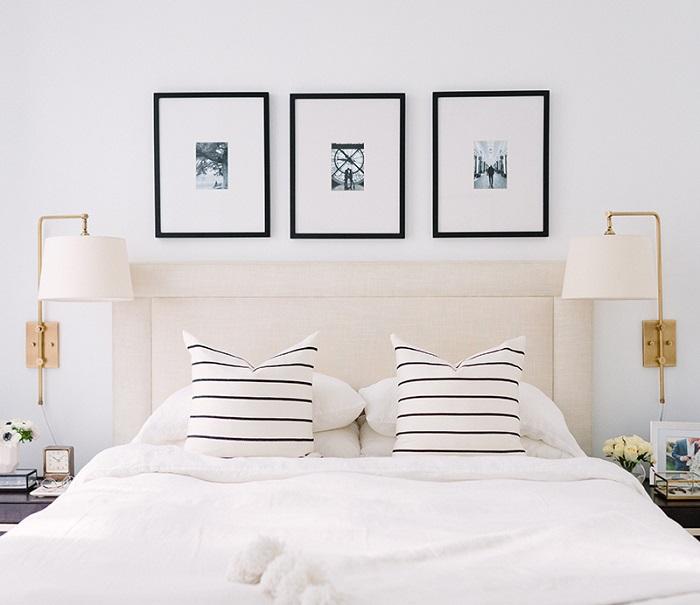 Cách trang trí giường ngủ hiện đại và ấn tượng-1