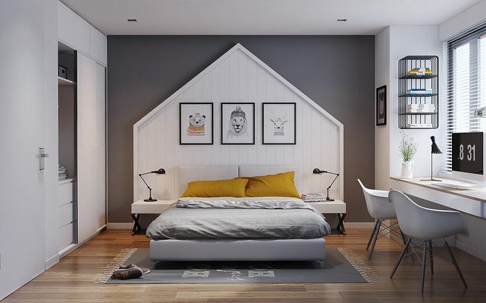 Cách trang trí giường ngủ hiện đại và ấn tượng-2