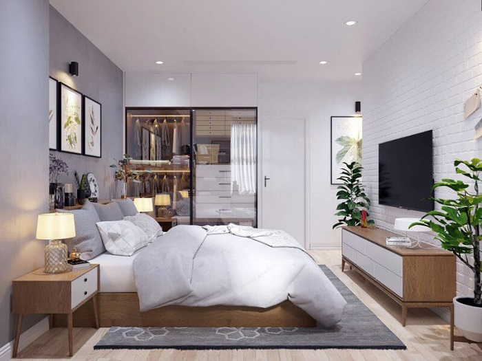 Cách trang trí giường ngủ hiện đại và ấn tượng-6
