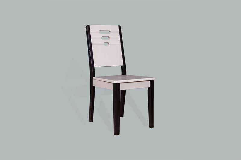 Ghế ăn 15 đen trắng thanh lịch-6