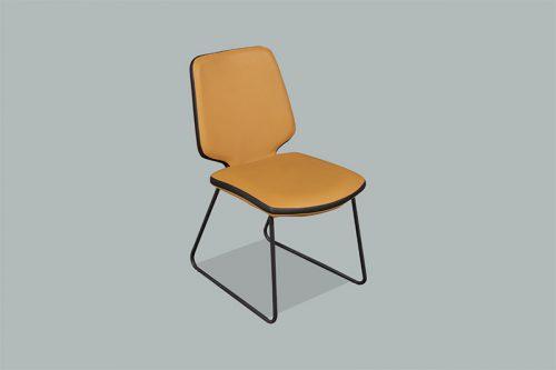 Ghế ăn D111 (2 phiên bản có tay - không tay)-12