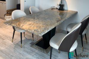 Ghế ăn TC5125 kết hợp bàn ăn mặt đá Vivi TC8189-Anh Hà-Tòa Penstudio, 699 Lạc Long Quân-2